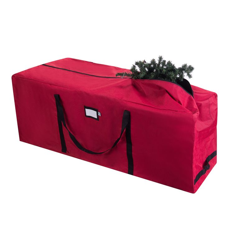 Features:  -Large enough to hold a 9' disassembled artificial Christmas tree.  -Three rollerblade style wheels and reinforced straps.  Product Type: -Tree Storage.  -Please note, the sides of the bag                                                                                                                                                                                  More