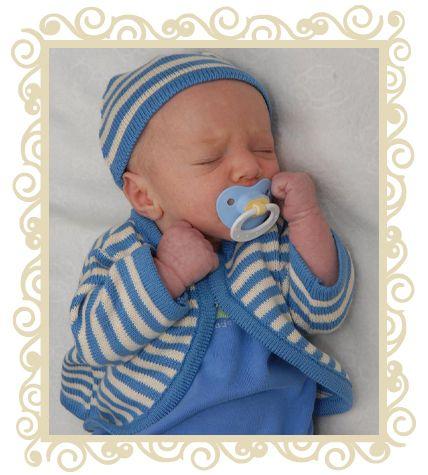 On sale! http://www.buttonbaby.com.au/button-stripe-baby-cardigan-blue-p-121.html - Button blue