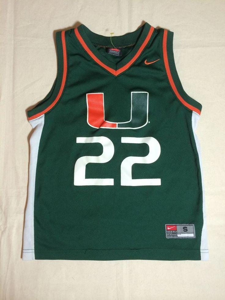 UM University of Miami Hurricanes Basketball Jersey #22 Team Nike Youth Small #Nike #MiamiHurricanes http://www.ebay.com/itm/UM-University-of-Miami-Hurricanes-Basketball-Jersey-22-Team-Nike-Youth-Small-/191325972863