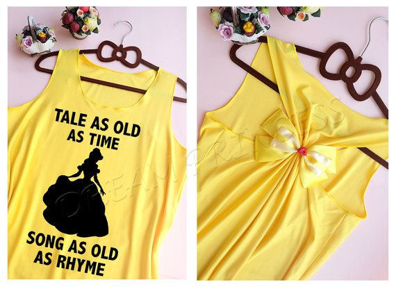 Belle Disney Princess tank top : Disney tank by Dreamprincess13