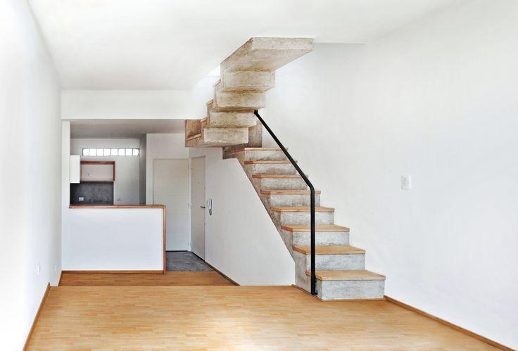 Urban Style Pampa - F2M Arquitectos - Interior Estar-comedor - cocina unidad de 3 ambientes - +Info: http://www.f2mstudio.com.ar/p/urban-style-pampa.html