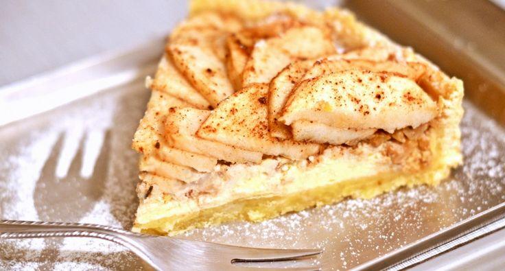 Almás-mascarponés-diós pite recept | APRÓSÉF.HU - receptek képekkel