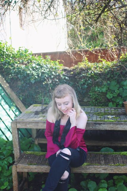 Hey guys,                        Scarf - Topshop   Top - Red hearing at Debenhams   Jeans - Primark   Shoes - Zara     Off the shoulder...