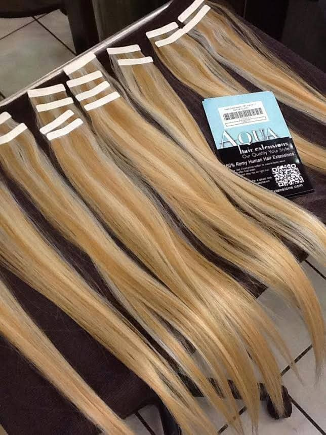 8 best aqua tape in extensions images on pinterest aqua hair aqua hair extensions duo tone 61327 pmusecretfo Choice Image