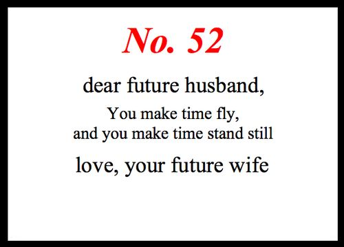 Little Love Notes To My Future Husband 52 Cute Lovey Stuff