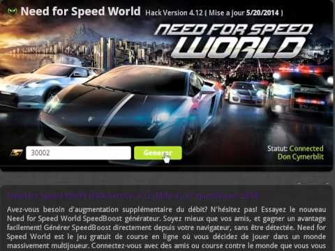 Need for Speed World Triche
