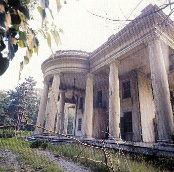 """The Dark Shadows """"Old Mansion"""" house, in Tarrytown, NY. The main house"""