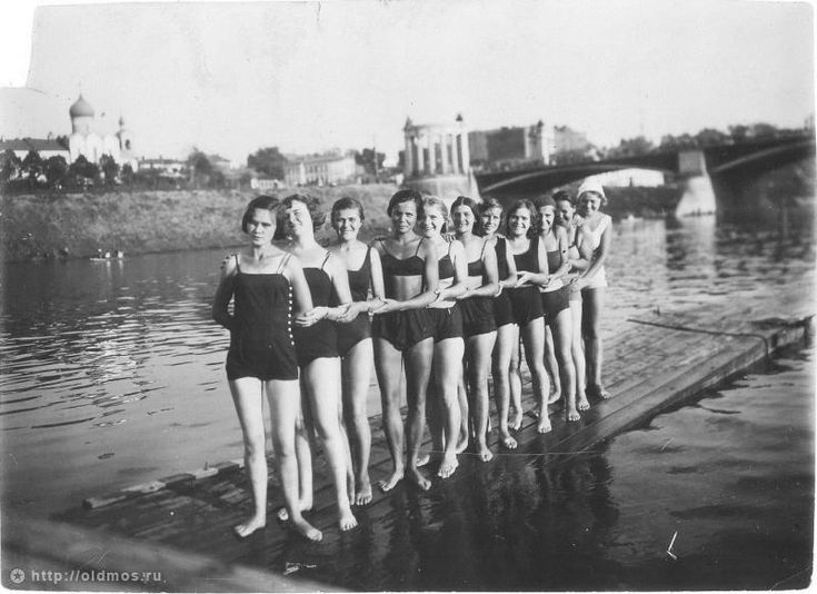 Bathing In the Moscow River, 1927