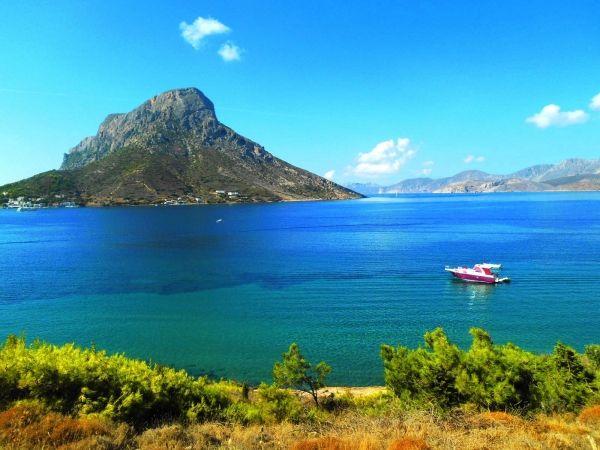 Telendos island from Kalymnos