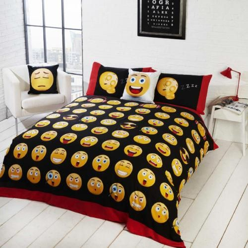 Emoji Double Quilt Cover