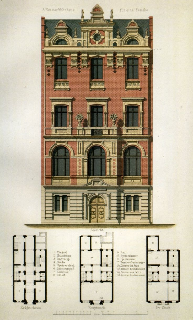 486 best plans ii images on pinterest floor plans house for Residential architectural drawings