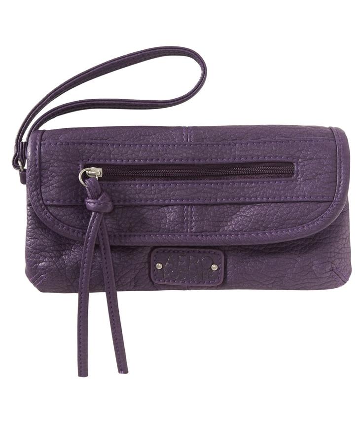 Faux Leather Wristlet - Aeropostale: Wristlets, Style, Aeropostale, Fall Fashion, Faux Leather
