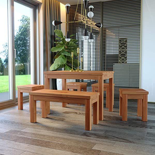 Krok Wood Esstisch Paris Aus Massivholz In Buche 160 X 90 X 75 Cm In 2020 Gartenmobel Sets Neue Wohnung Aussenmobel