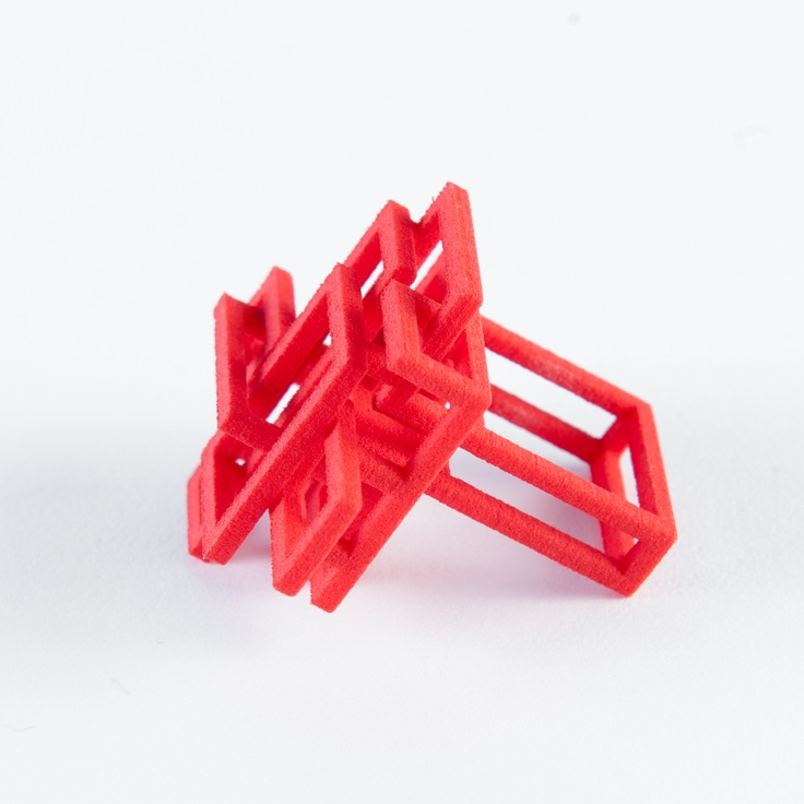 What a cleverly #designed #square #ring! We'ld love to get our hands on this!: Perfect Red, Jewelry Inspiration, Rings Red, Square Rings, Diy Jewelry, Jewelry 02, Open Squares, Jewelry Ideas, Squares Rings