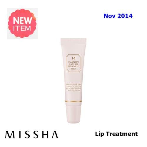 New  Nov  2014   US$14.9    [ Missha ] M Essential Care Lip Treatment 13ml(New2014), Korean Best Cosmetics, Free Shipping