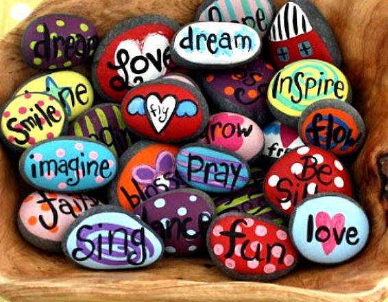 Best 25 hand painted rocks ideas on pinterest - Resource com verven ...