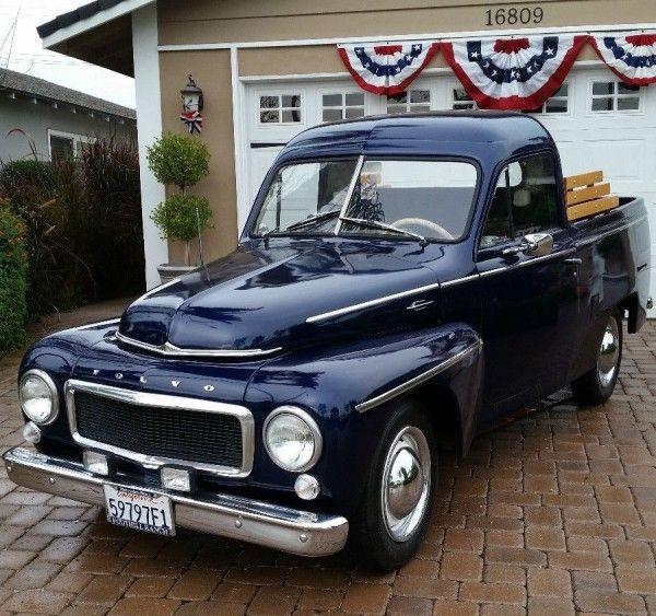1959 Volvo Pick Up Truck