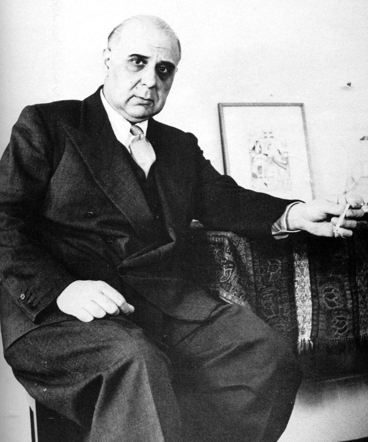 GEORGIOS SEFERIS (Γιώργος Σεφέρης) was one of the most important Greek poets of the 20th century, and a Nobel laureate. He was also a career diplomat in the Greek Foreign Service.