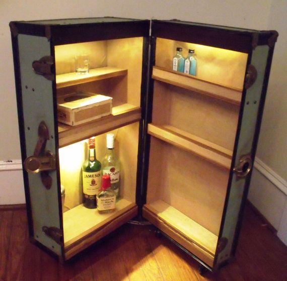 31 best funky home bars images on Pinterest | Liquor cabinet ...
