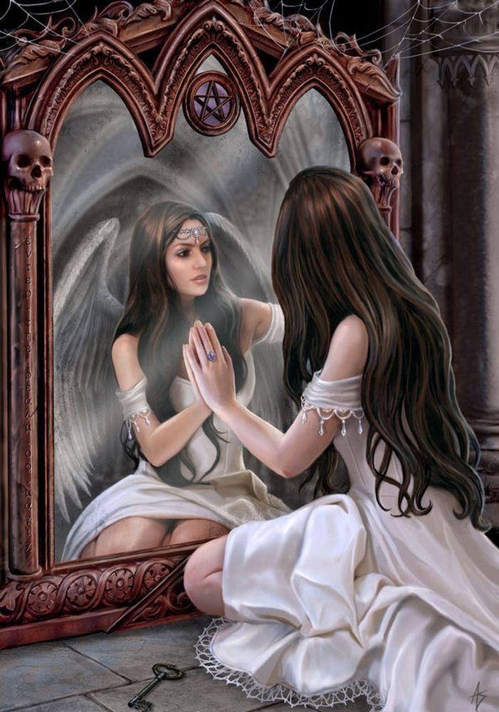 костолевский зеркало любви картинки говорила, что живет