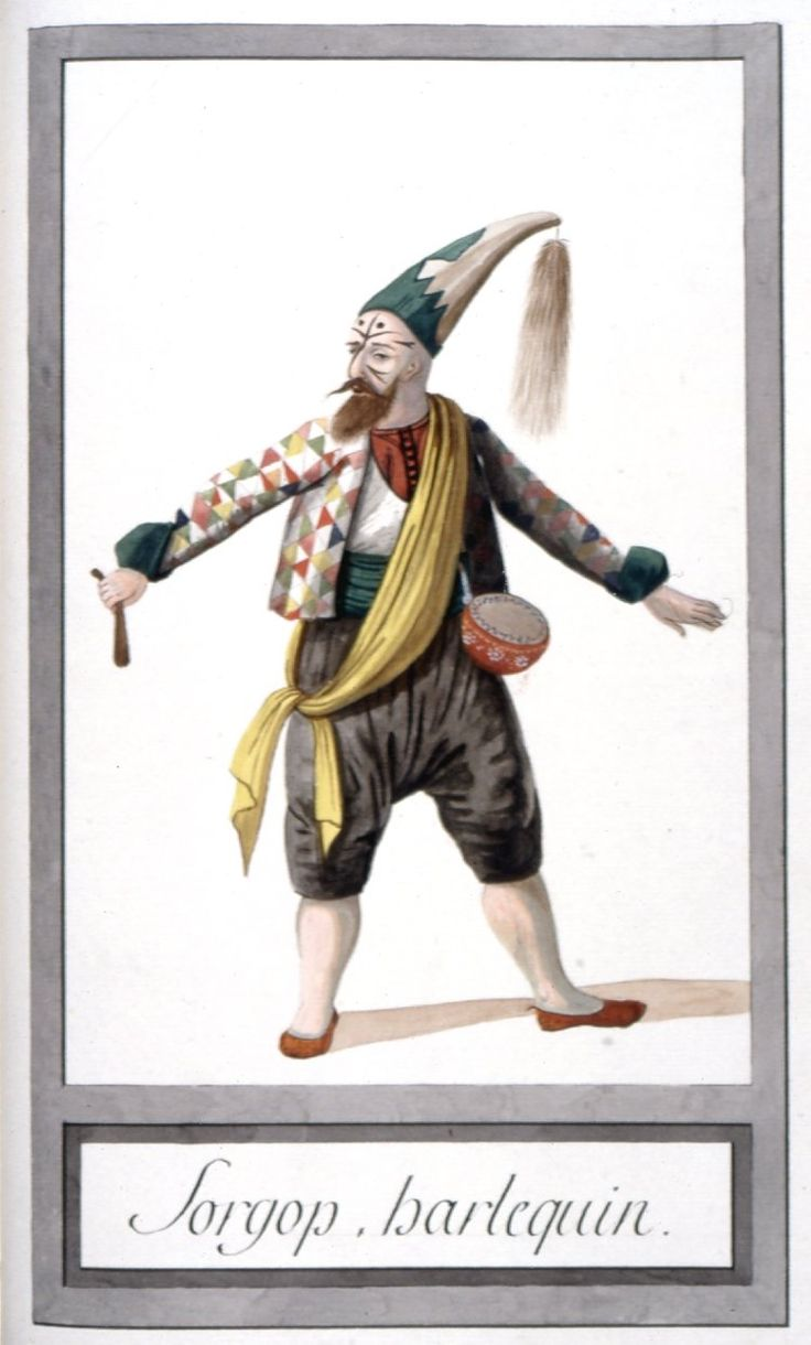 Soytarı (?) - Illustrations of Ottomans circa 1790 from Costumes Turcs  Source: British Museum
