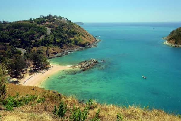 Phuket Island - THAILAND  Phuket, which is approximately the size of Singapore, is Thailand's largest island. The island is connected to mainland Thailand by two bridges. It is situated off the west coast of Thailand in the Andaman Sea.
