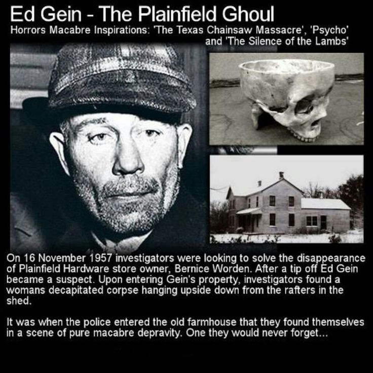 Serial killer, one sick bastard...human gloves, really!, there's a movie on Netflix about this guy, sick but good