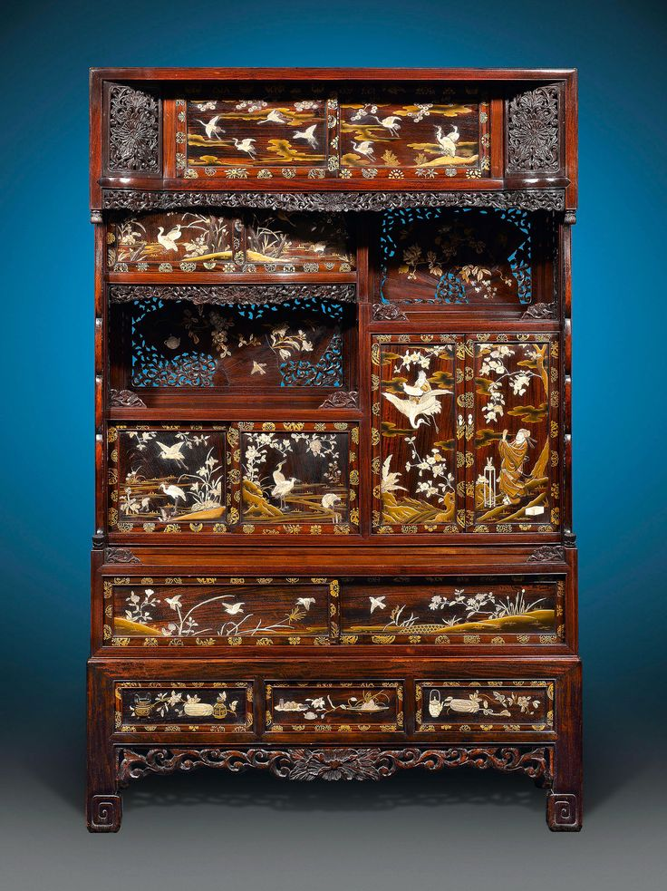 Asian art japanese meiji period cabinet the curator 39 s for South asian furniture