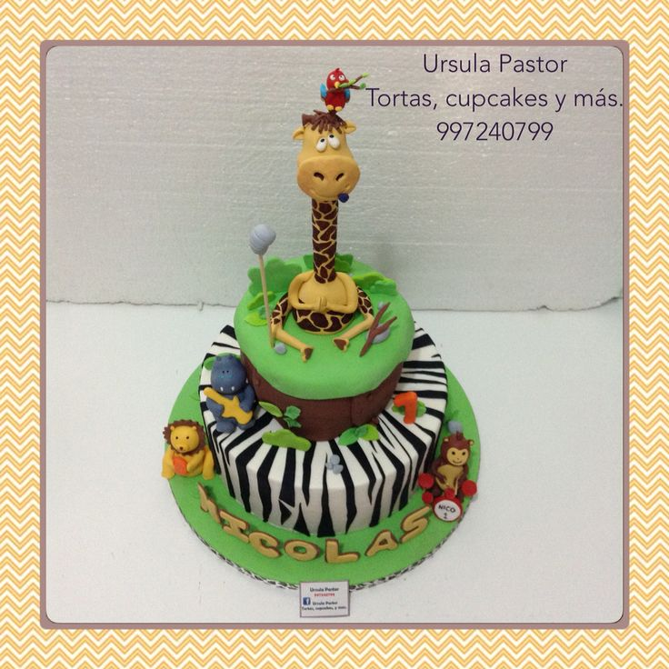 Cake Art By Bec : 315 best images about Ursula Pastor Tortas, cupcakes y mas ...