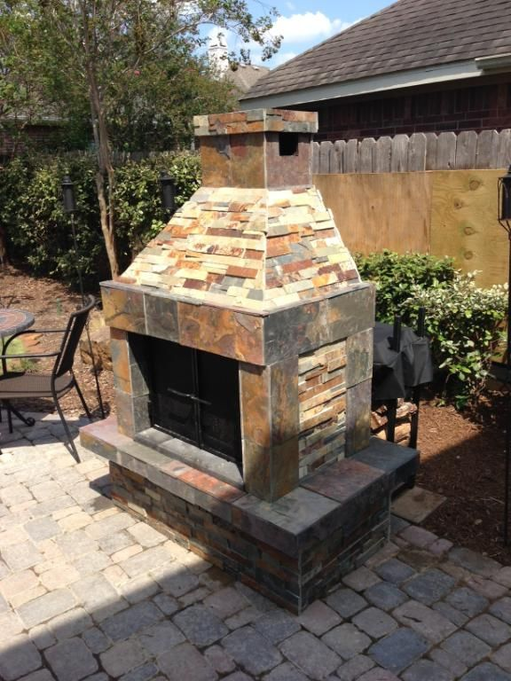 fireplace slate. This is the fireplace kit with slate tiles added  25 best Fireplace images on Pinterest Slate