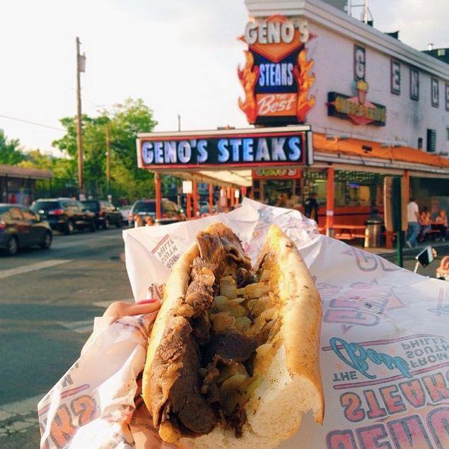 2. Geno's Steaks, Philadelphia