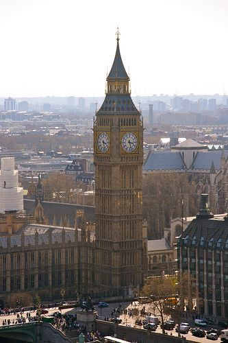 "Big Ben is the nickname for the great bell of the clock at the north end of the Palace of Westminster in London, and often extended to refer to the clock and the clock tower. - The tower is now officially called the Elizabeth Tower, after being renamed in 2012 (from ""Clock Tower"") to celebrate the Diamond Jubilee of Elizabeth II."