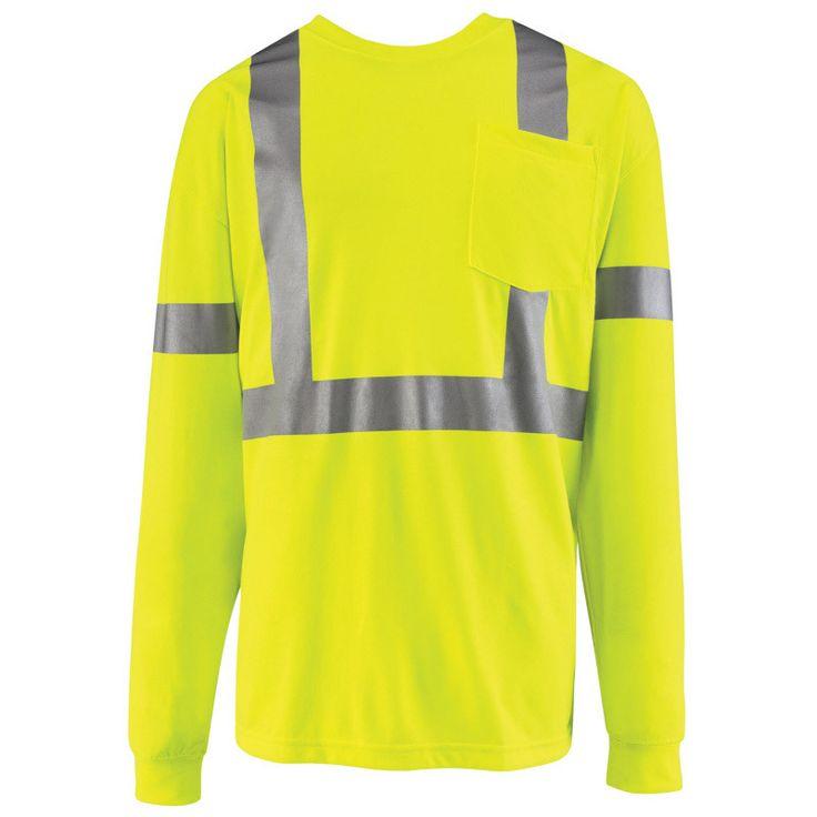 Hi-Visibility Long Sleeve T-Shirt SYK2HV