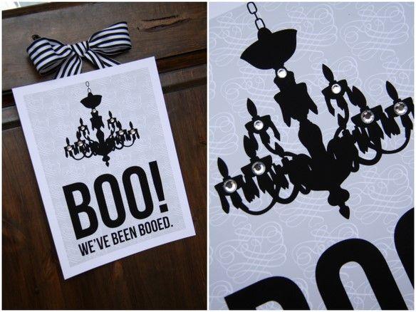 do you boo?: Halloween Boo, Boo Printable, Idea, Boo Signs, Booed Sign, Halloween Printable, Free Printable, Halloween Signs, You'Ve Been Booed
