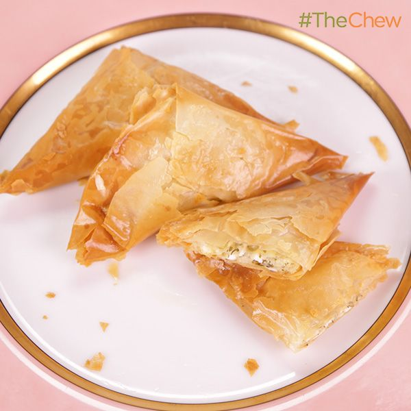 Cici's Cheese Borags by Kris Jenner. #TheChew