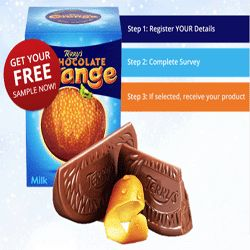 Free Samples Of Terry's Chocolate Oranges For You - Terry's Chocolate Orange combines real orange extract with smooth milk chocolate and is packaged in an orange shaped ball divided into 20 segments. If you'd like to try this awesome chocolate product, you can claim your free samples of Terry's Chocolate Orange here. You can provide your feedback and then keep the product. Claim yours now!