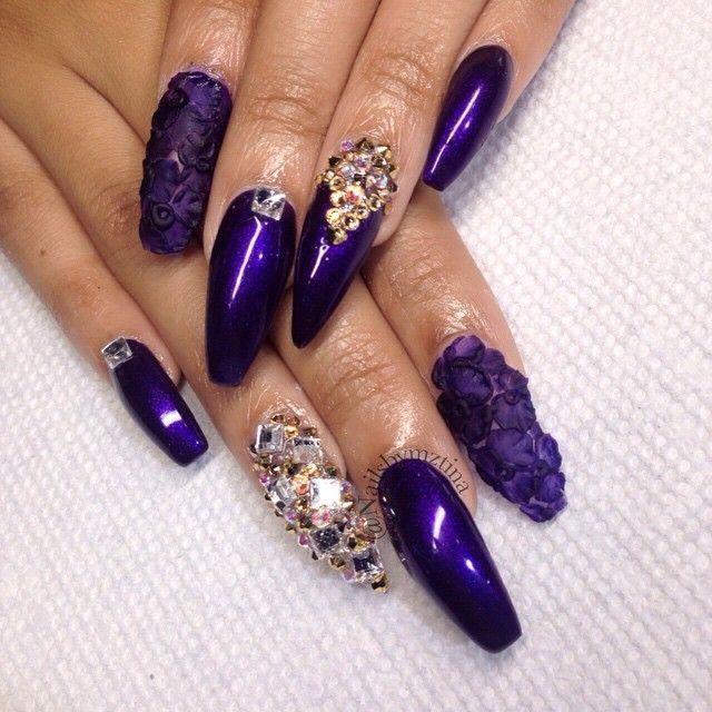 nailsbymztina | User Profile | Instagrin - 45 Best Nails Images On Pinterest Acrylic Flowers, Acrylic Nail
