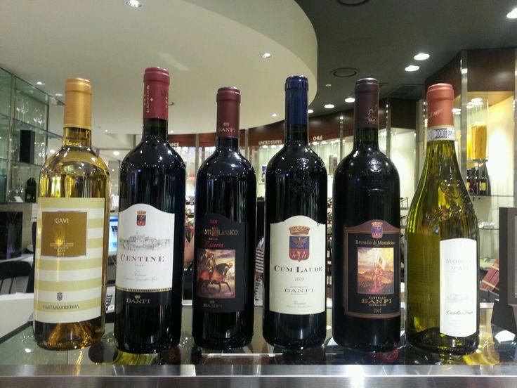 Italian wine tasting day~~