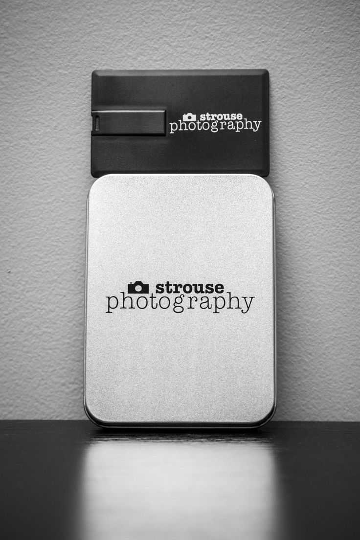 black business card flash drives with metal tin packaging | Custom ...
