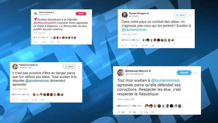 Députée LREM agressée: de Macron à Philippot, la classe politique se veut solidaire