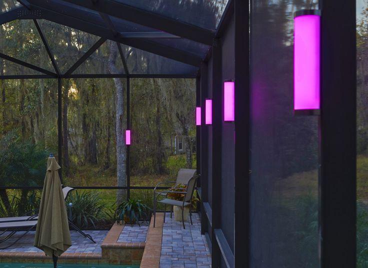 13 best Nebula Pool Cage Lighting images on Pinterest ...