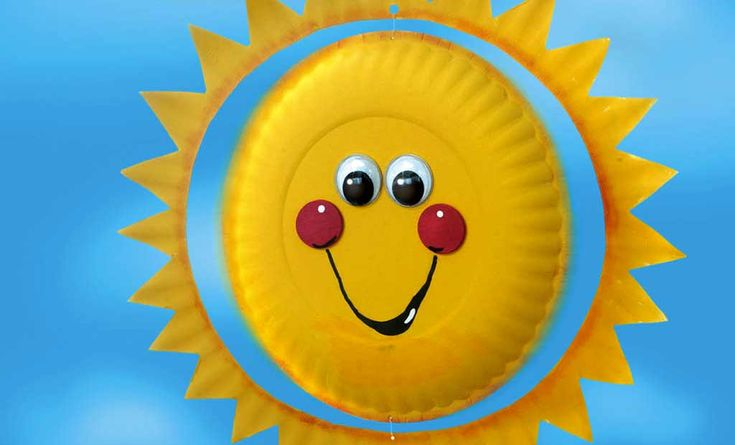 Craft Ideas Weekly - smiling sunshine