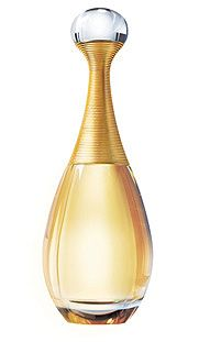 Dior's J`adore ... one of the first perfumes i wore... main accords: floral, fruity, white floral, watery, sweet