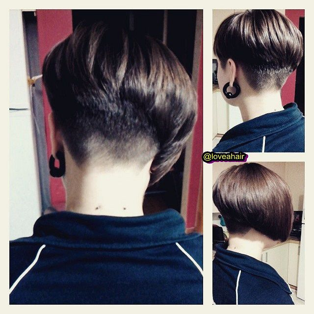 78 Images About Short Bob Haircuts On Pinterest