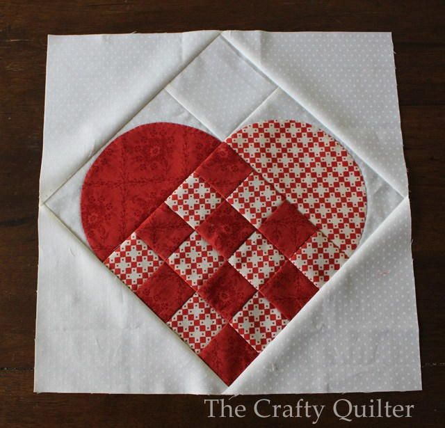 Nordic Heart Block Tutorial | Go Scandinavian this Christmas with this charming block tutorial!