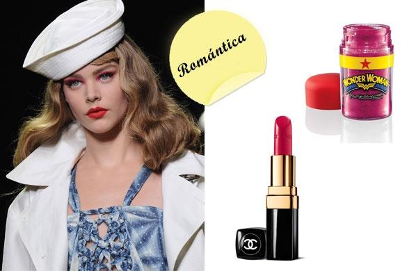 Pinta tus ojos con colores de ensue%C3%B1o en la gama de los rosas. Consigue el look con el pigmento fucsia de la línea WonderWoman de M.A.C. y contrástalos con un rosa más oscuro (casi rojo) en los labios, como el de Chanel. La imagen es del desfile de Dior S/S 2011 en Getty Images.