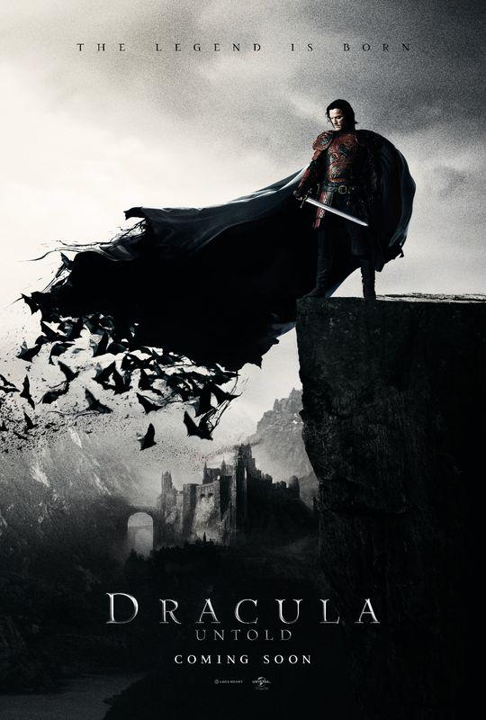 First look, Dracula Untold poster: Luke Evans develops a taste for blood!