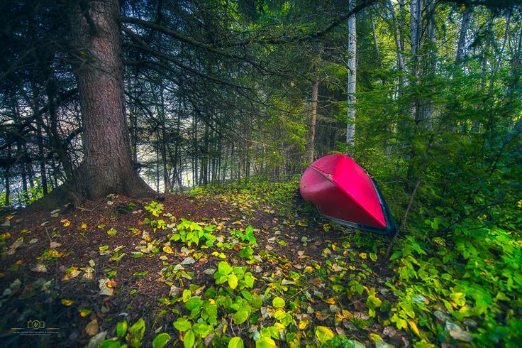 Red Canoe by Ian McGregor on 500px