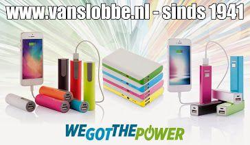 #Powerbank, het perfecte #relatiegeschenk  Een powerbank is niets meer dan een draagbare oplader voor je elektronische apparaten. Je laadt 'm thuis of op kantoor. De capaciteit, mAh, van de powerbank, geeft de kracht van de accu aan. Hogere capaciteit, hoe sterker de oplader en hoe meer stroom deze kan leveren.   Nieuw assortiment 2015, check it out: http://www.vanslobbe.nl/…/electronica…/powerbank-noodoplader