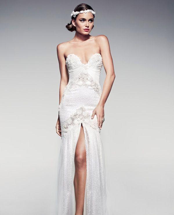 Vintage Wedding Dresses with a Modern Spin - MODwedding